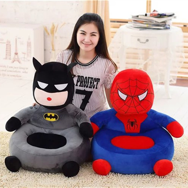 2017 New Hot Sale Children Gifts Creative Bedroom Lazy Plush Sofa Baby Plush Toys Sofa Child Seat Kids Toy Baby Chair 12 Colors