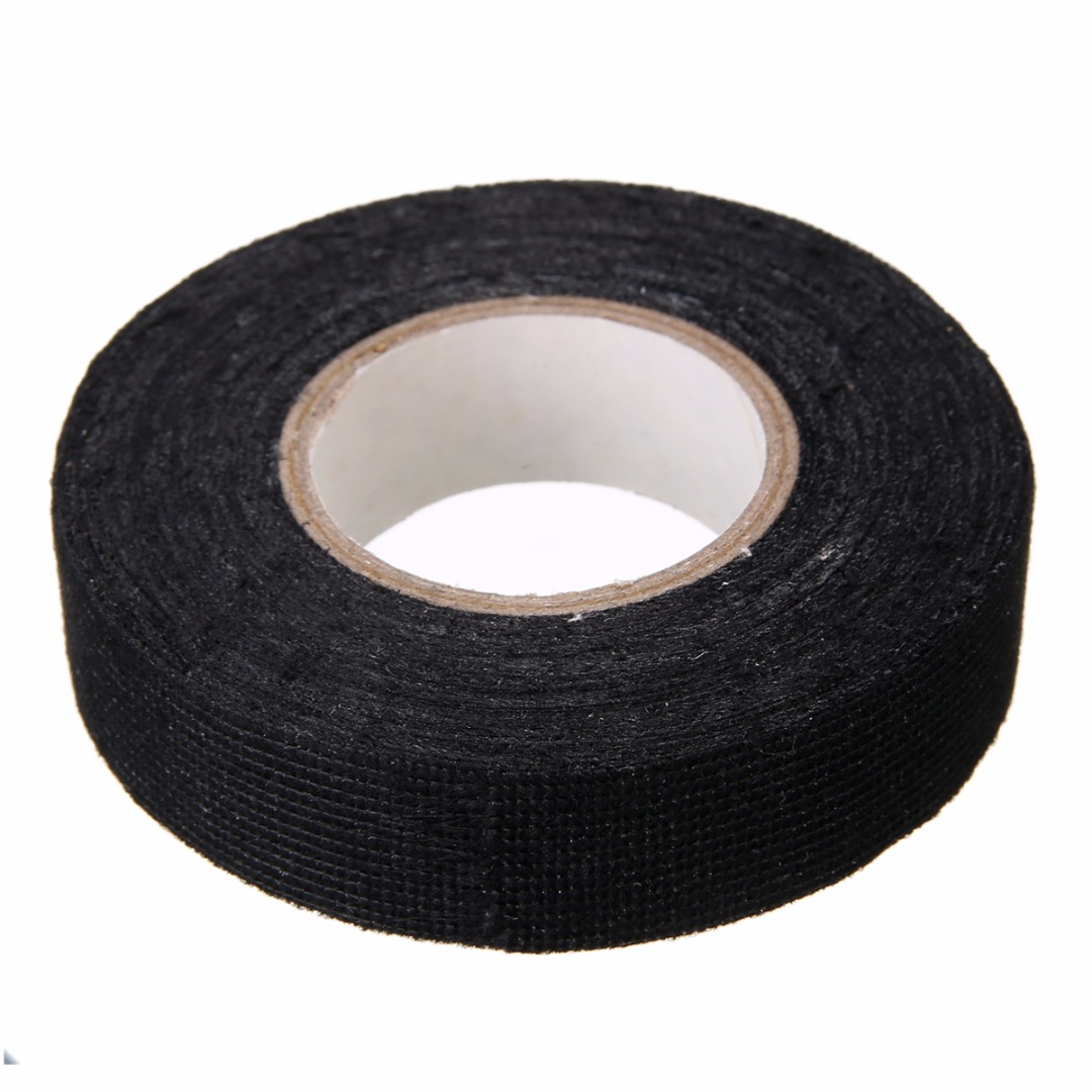 small resolution of 1pc wiring harness tape strong adhesive cloth fabric tape for looms cars 19mm x 15m