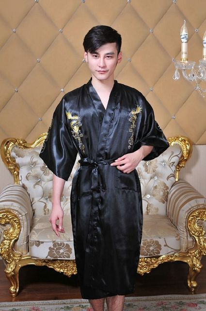 traditionelle japanische yukata m nner japanischen schlafanzug m nner nachtw sche lounge hause. Black Bedroom Furniture Sets. Home Design Ideas