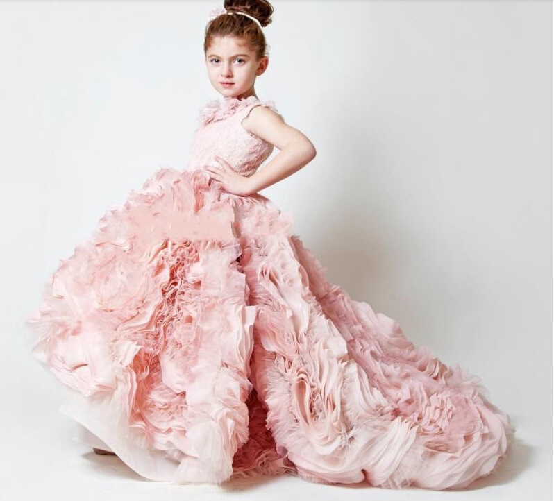 Moderno Vestidos De Novia De Color Rosa Princesa Ideas Ornamento ...