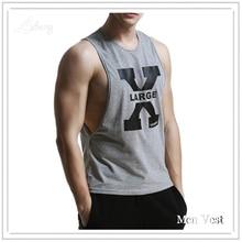 Men Tank Top Singlets Stringers Sleeveless Top Tees Shirts Cotton Hip Hop Brand Tshirts Mens Gasp Tank Shirt Muscle Casual Vest