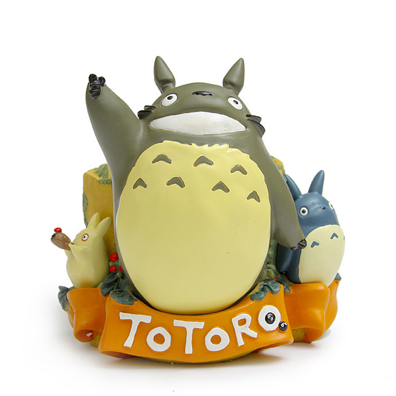 1.3Kgs/pcs My Neighbor Totoro Big flower pot office Home Decoration Resin Action Figure Model Toys DIY аксессуар чехол lenovo a516 it baggage black itlna516q 1