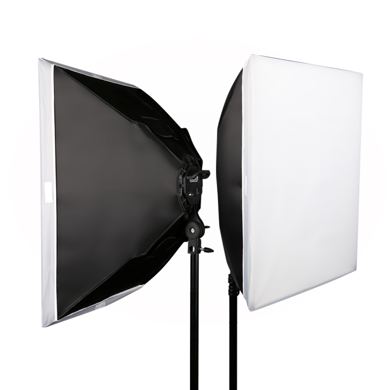 Image 3 - GSKAIWEN Photography Studio LED Lighting Kit Adjustable Light with Stand Softbox Tripod Photographic Video fill light-in Photographic Lighting from Consumer Electronics