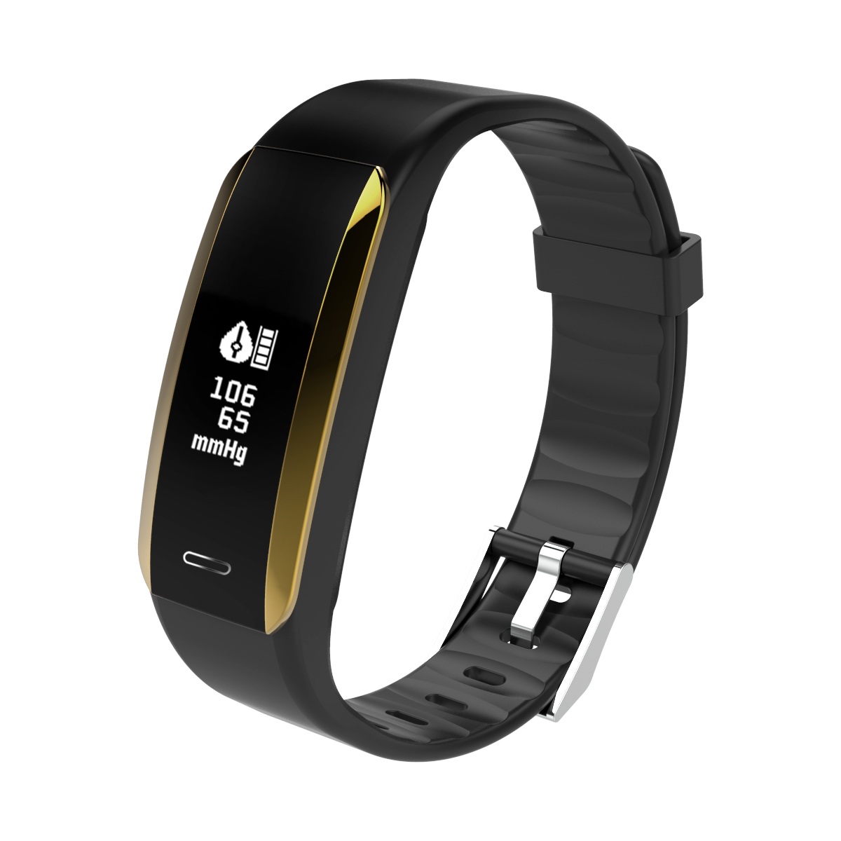 IP67 Waterproof Fitness Tracker Pedometer Blood Oxygen Heart Rate Monitor Running Sport Step Tracker Walking Distance Counter