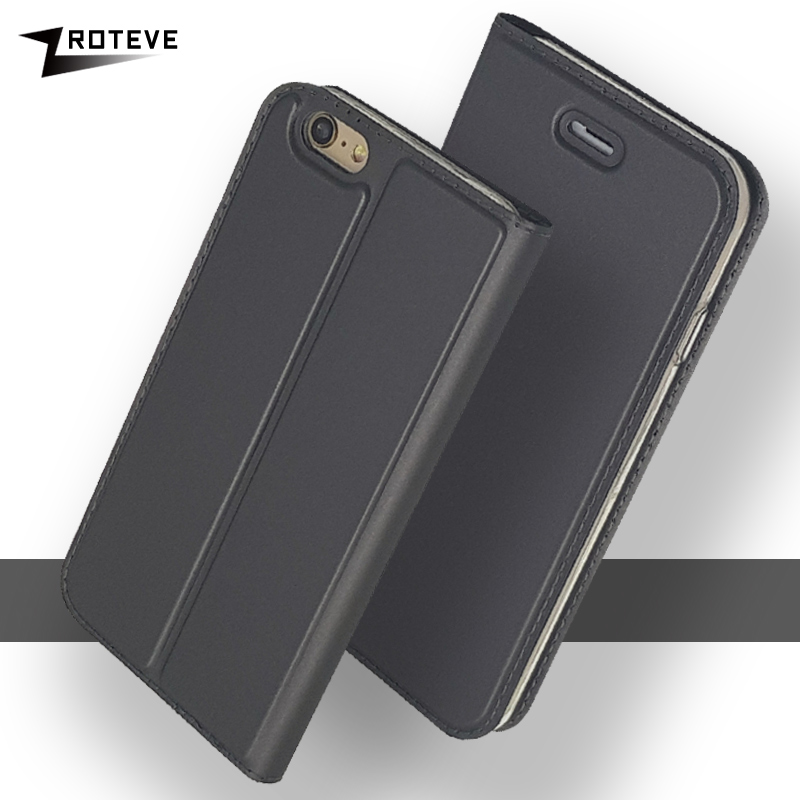 ZROTEVE Cover For iPhone 6 6S Plus <font><b>Case</b></font> Wallet Leather Coque For <font><b>iPhone6</b></font> <font><b>Case</b></font> Flip Luxury Cover For Apple iPhone 6 S Plus <font><b>Cases</b></font> image