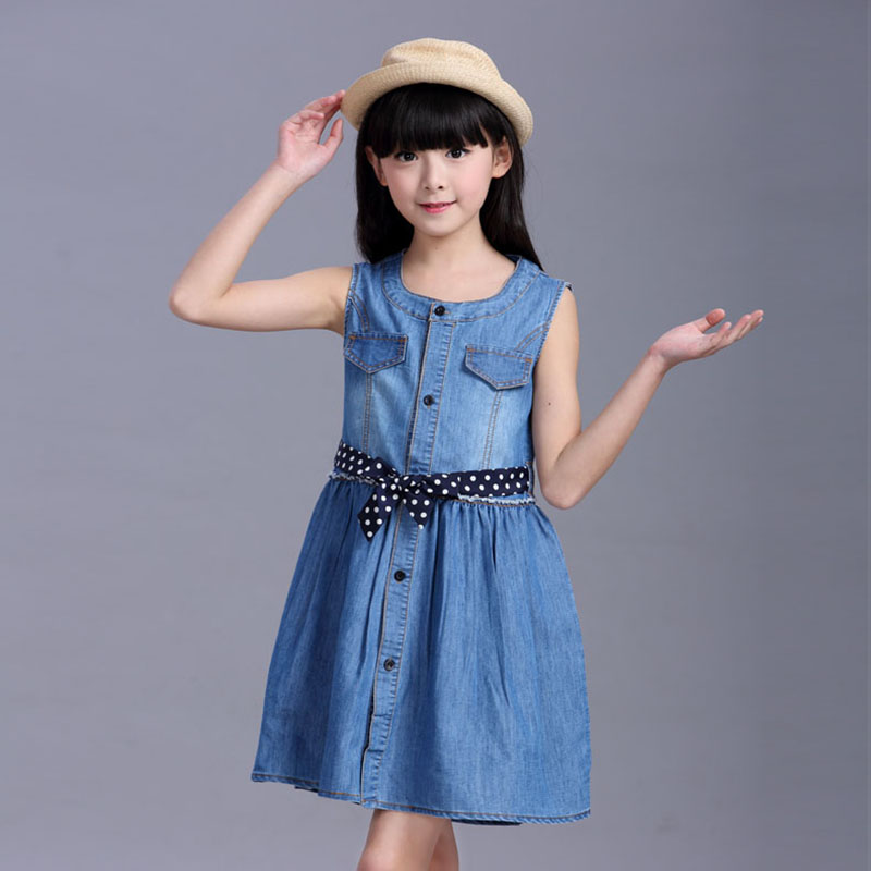 4 6 7 8 10 12 14 15 Years Children Kids Sleeveless Denim Cowboy Dress For Teens Girls Summer Sweet Vest Dress Clothes New 2018 44 6 7 8 10 12 14 15 Years Children Kids Sleeveless Denim Cowboy Dress For Teens Girls Summer Sweet Vest Dress Clothes New 2018 4