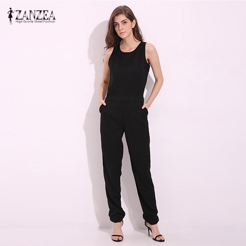 zanzea 2017 summer rompers womens jumpsuit sexy. Black Bedroom Furniture Sets. Home Design Ideas