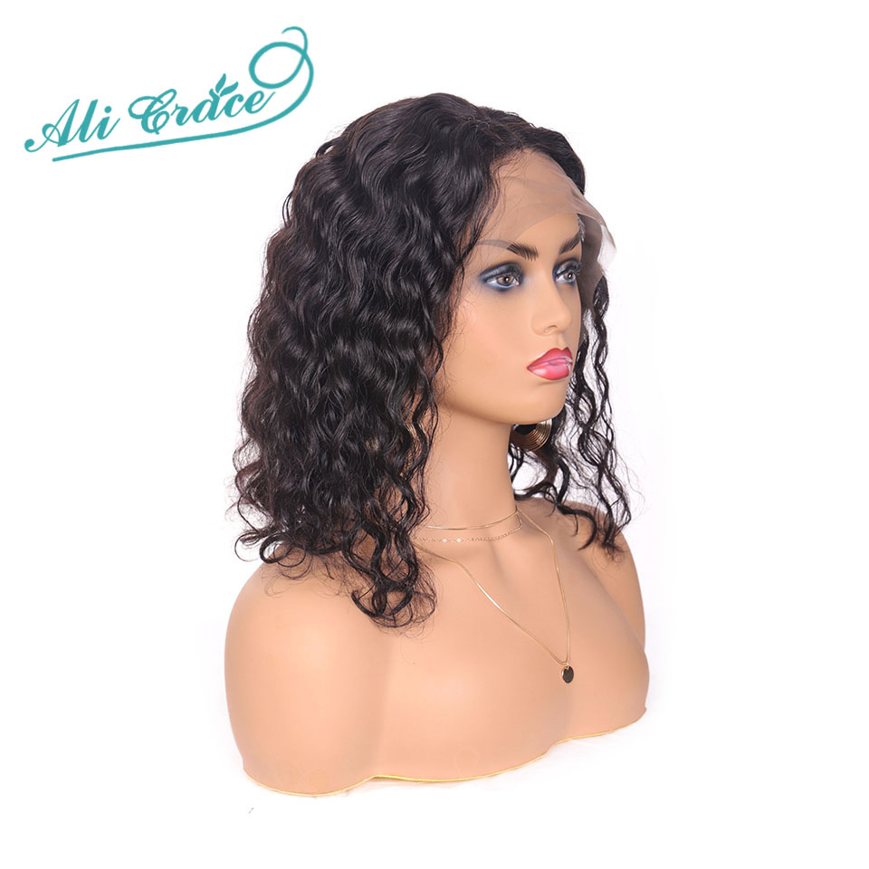 Ali Grace Loose Wave Lace Front Wigs 13 4 Bob Wigs With Baby Hair 150 Density