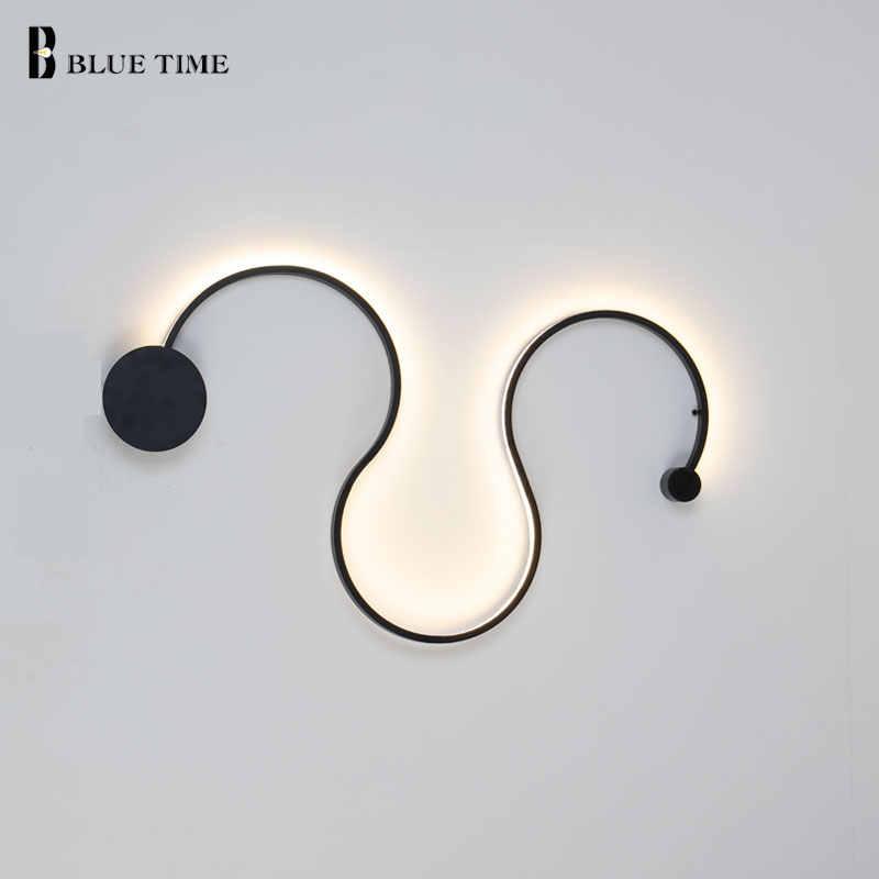 2017 уникальный дизайн новый современный настенный светильник для ванной комнаты простой креативный Wandlamp Ретро Личность современный простой светодио дный светодиодный настенный светильник