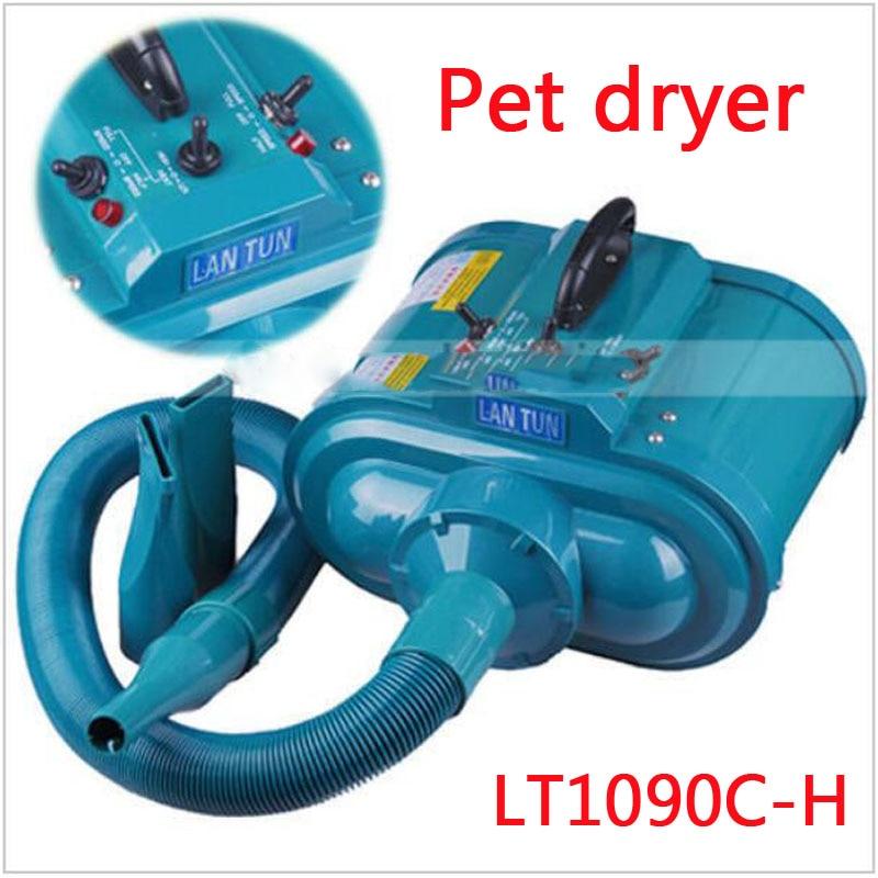 NEW LT1090C H 4 electric dryer Gear Speed Dual motor Professional Pet Hair Dryer Blower 3600W 220V