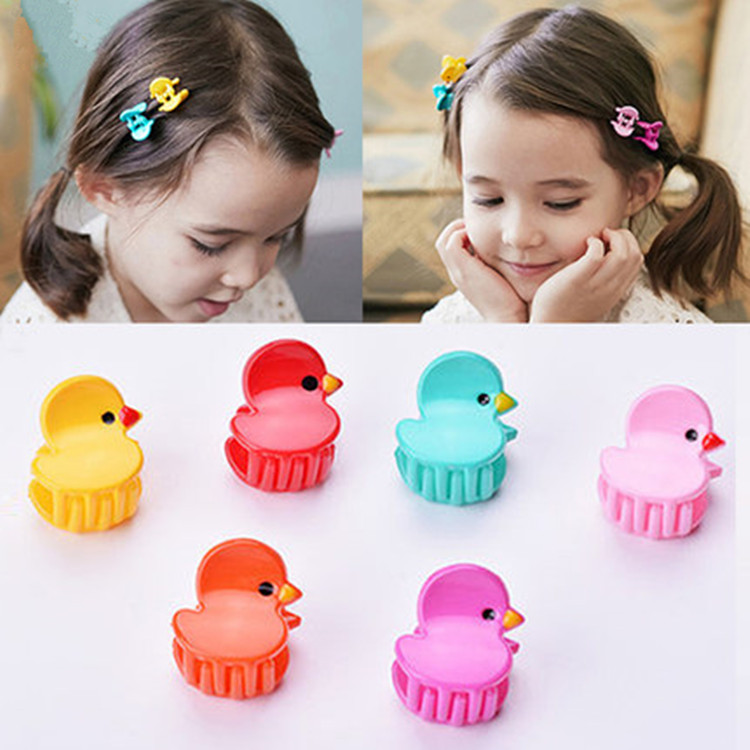 10pcs New Candy Color chicken Hair Claw Clamp Hair crab claw clip Hairpins Child Girl Hair Ornaments Baby Hair Accessories new hair claw for women girl elegant high quality hair clip party decorations holiday gift accessories