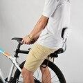 Assento do bebê Da Bicicleta Da Criança Bicicleta Cadeira de Couro do PLUTÔNIO Tampa Do Rack de Almofada para Assento Traseiro Sela Acessórios Da Bicicleta Da Bicicleta do Miúdo partes