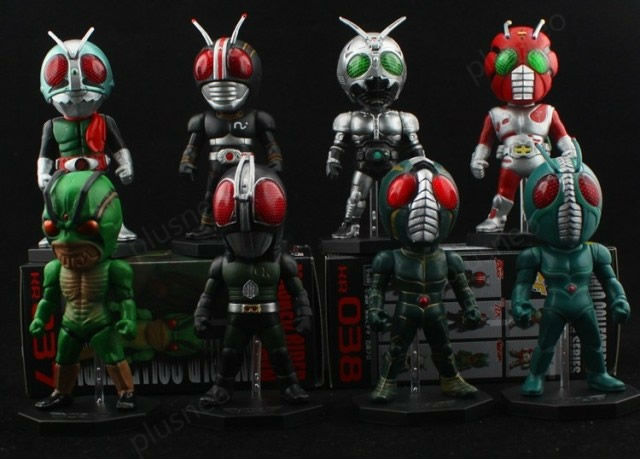 2013 NEW ARRIVAL  WCF Kamen Rider Masked Rider  RX anime toys  8pcs/set action figures  JP Collector's Edition Free shipping