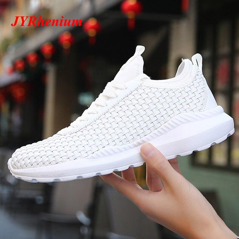Laufschuhe für Mann 2018 Schwarz Weiß Schuhe Sport Schuhe Männer Turnschuhe Zapatos Corrientes Chaussure Zapatillas Deportivas Hombre