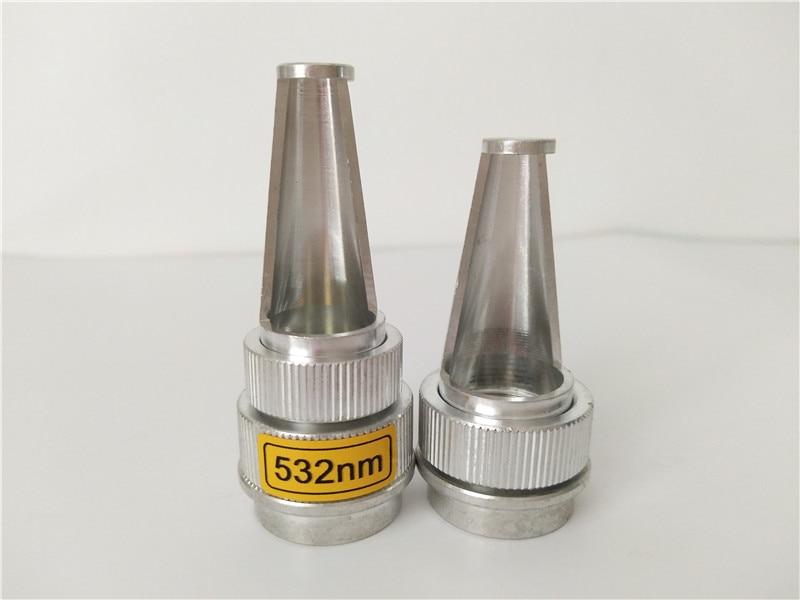 laser parts 1064 NM 532 nm Laser tips head probe for color tattoo black doll laser tips for sale