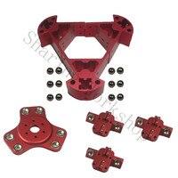 Reprap Delta Kossel k800 magnetic effector+carriage+Corner Fittings+round screw ball kit for DIY kossel 3d printer