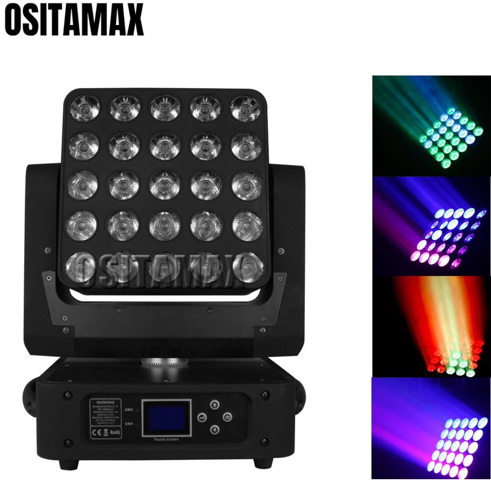 OSITAMAX A LED Professional beam blinder audience moving head lighting 25x10w 4in1 disco matrix wash led lighting equipment