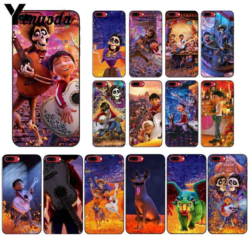 Yinuoda الحلم حول العالم كوكو الملونة لطيف الهاتف اكسسوارات حقيبة لهاتف أي فون 6S 6 زائد 7 7 زائد 8 8 زائد X Xs ماكس 5 5S XR
