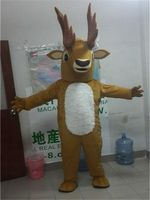 Deer Mascot Costume Suits Cosplay Party Game Dress Outfits Clothing Advertising Carnival Halloween Xmas Easter Festival Adults