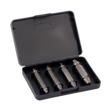 4 Pieces Drill Bit Set Steel Broken Speed Out Damaged Screw Extractor Broken Bolt Remover Sets