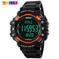 Men Sports Watches SKMEI Brand Men's 3D Pedometer Heart Rate Monitor Calories Tracker Digital Watch Man Military Outdoor Clock