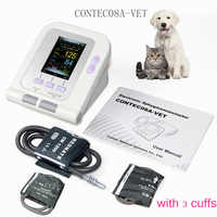 Vet Veterinary OLED digital Blood Pressure & Heart Beat Monitor NIBP CONTEC08A-VET +3 cuffs