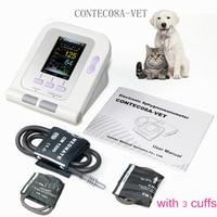 Vet Veterinary OLED digital Blood Pressure & Heart Beat Monitor NIBP CONTEC08A VET +3 cuffs