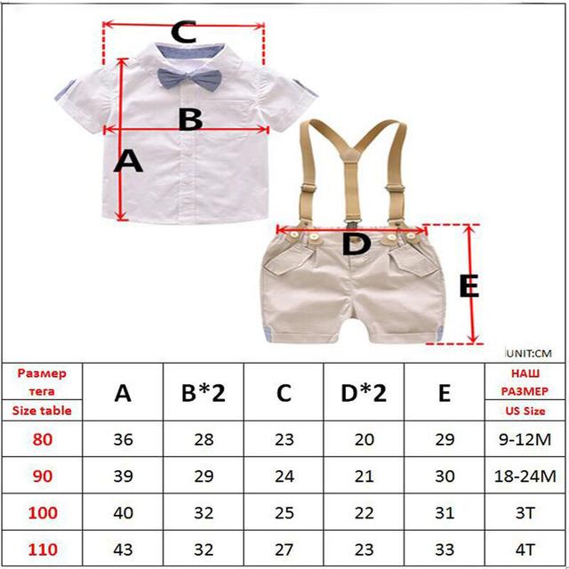 Toddler Boys Clothing Set