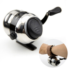 New Concealed Fishing Wheel Catapults Closed Spherical Shot Control Hunting Fishing Reel with Nylon Wire ALS88