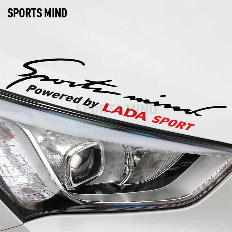 цена на Sports Mind Car Covers Automobiles Car Sticker Decal Car-Styling For lada granta vesta niva kalina priora exterior accessories