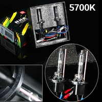 2pcs 35W Hid Xenon Bulb Metal Holder Car Styling Hid Bulbs For Headlight High Intensity Discharge