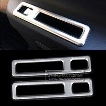 Ди ABS автомобилей Интимные аксессуары для Mercedes-Benz Vito 2016 внутренние окна отрегулировать атлет переключатель Панель отделкой полосы хром тарелка