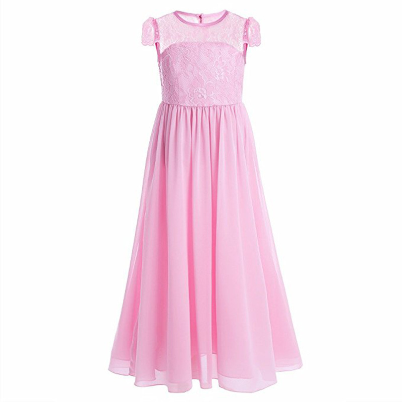 1b065076aa4 White Dresse for Girls Wedding Party Flower Children Clothes Princess  Vestidos Teen Girl Tulle Lace Evening Dress Graduation 12T-in Dresses from  Mother ...