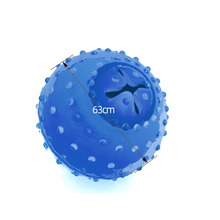 Rubber Olives Ball Chew Pet Dog Toy Freeze Cooling Teether Puppy Toys Sisal Tooth Clean Training Gift
