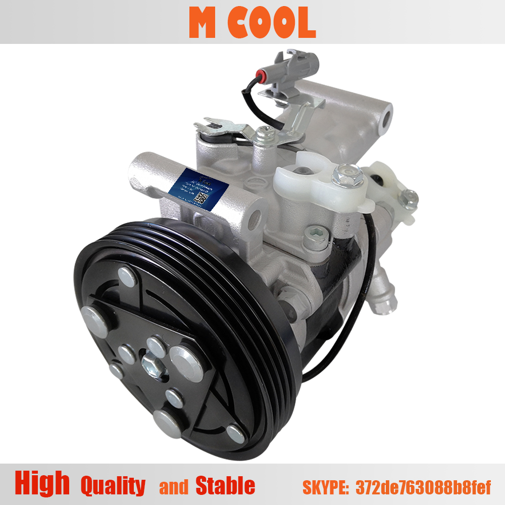 Freeshipping Auto AC Compressor For Suzuki Swift 1 6L 9520063JA0 9520063JA1 95201 63JA1 95201 63JA0 V08A1AA4AG in Air conditioning Installation from Automobiles Motorcycles