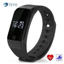 Teyo Smart Band X7 сна монитор сердечного ритма водонепроницаемый Атмосферное давление температура Шагомер умный Браслет Android IOS