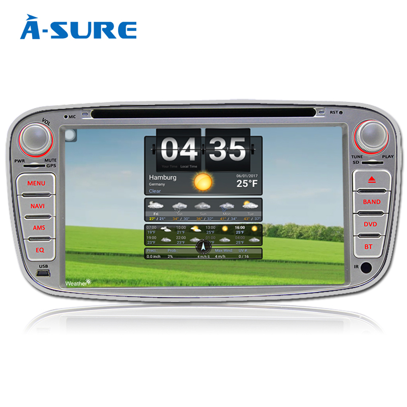 a sure quadcore android 6 0 2 din car radio gps for ford. Black Bedroom Furniture Sets. Home Design Ideas