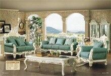 2016 Bean Bag Chair Chair European Style Antique No Sofas For Living Room Sectional Sofa Bolsa Hot Sale Luxury Euro Classic Set
