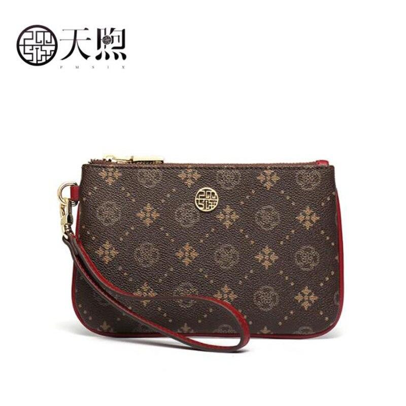 Pmsix 2020 nouvelle mode pochette pour femmes sac de luxe PVC matériel femmes sacs concepteur impression sacs à main pochette pour femmes enveloppe sac