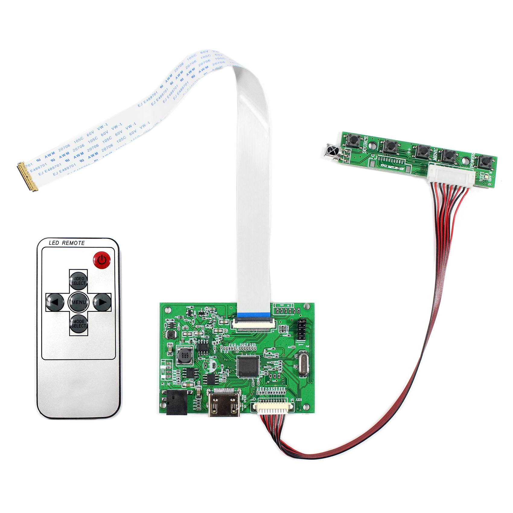 eDP HDMI Audio LCD Controller Board for LP156WF4-SPB1 LP156WF6-SPA1 1920x1080