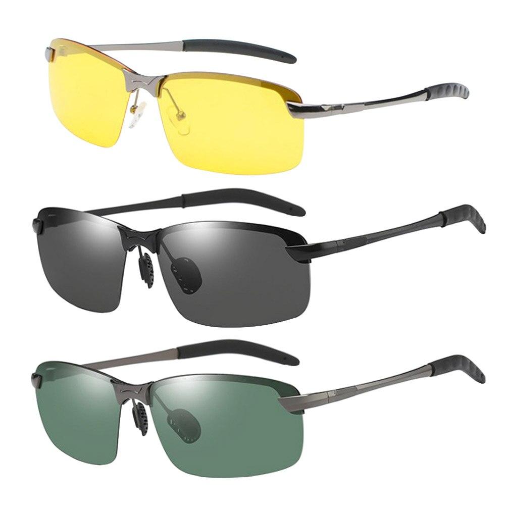 Lunettes de soleil Auto hommes lunettes polarisantes lunettes polarisées voiture conducteurs lunettes de Vision nocturne conduite classique lunettes de soleil accessoires