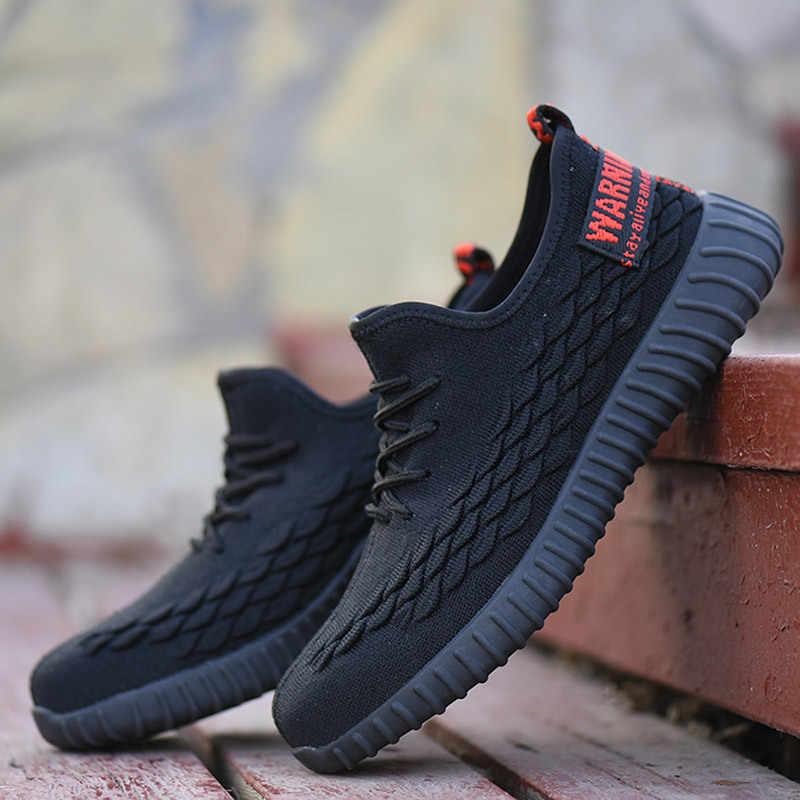 Erkekler iş ayakkabısı botları 2019 bahar yaz nefes rahat çelik burun Anti-smashing Anti-piercing güvenlik ayakkabıları CS-295