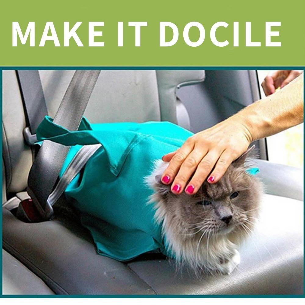 Cat Carrier Pack Cat Bag Diagonal Shoulder Bag Pet Out Travel Backpack Cat And Dog Convenient