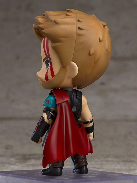 Nendoroid Thor 3 Ragnarok Avengers Super hero Thor 863 PVC Action Figures Collectible Model Kids Toys Doll 10cm 2