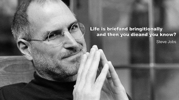 e8138c3328f Steve Jobs RIP Think Different Great Inventor 50*70cm