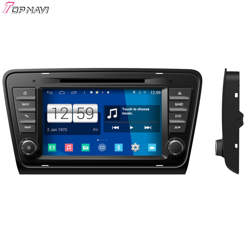 """Free Shipping 8"""" Quad Core S160 Android 4.4 Car DVD Multimedia For Skoda Octavia 2013 With Stereo GPS Mirror Link 16Gb Flash"""