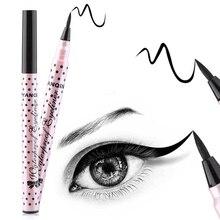 2019 Black Eyeliner Best Waterproof Liquid Eye liner Pen High Pigment & Long Lasting Makeup Smooth Make Up Tools