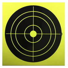 100pcs/4inch Splash Target Sticker Shooting Adhesive Reaction 10cm Archery, Practice