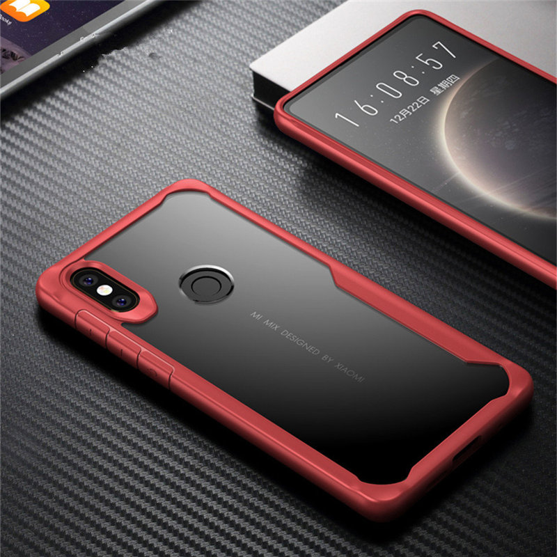 Case For Xiaomi Redmi 5A 6A 7 Note 6 7 Pro Lite S2 Y2 Clear Shockproof Soft TPU Case For Xiaomi 5X 6X A1 A2 Armor Cover Fundas