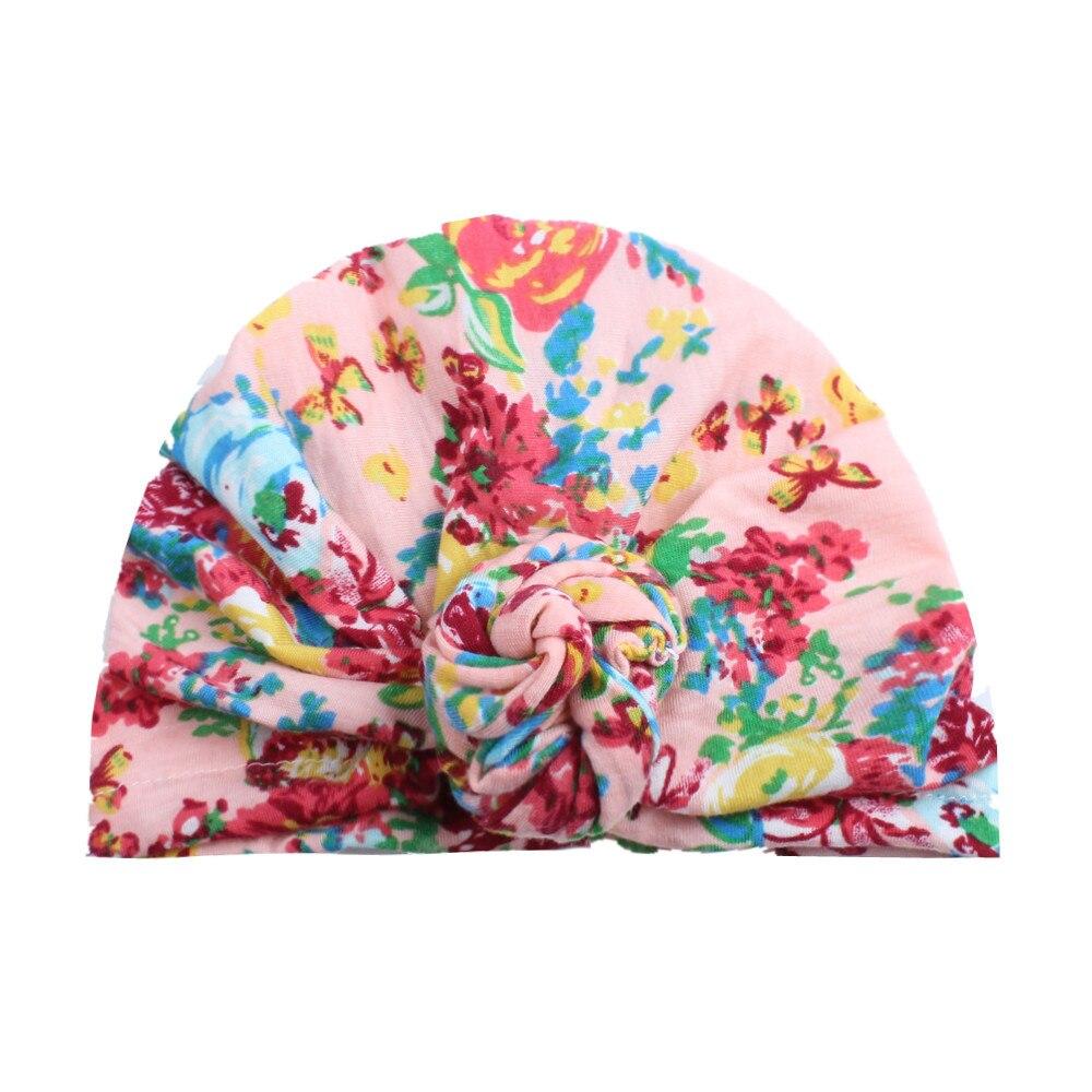 Cute Newborn Toddler Kids Baby Boy Girl Turban Cotton Beanie Hat Winter Warm baby cap baby hats